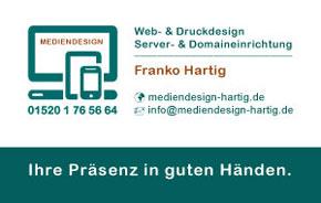 Werbebanner - MEDIENDESIGN Franko Hartig